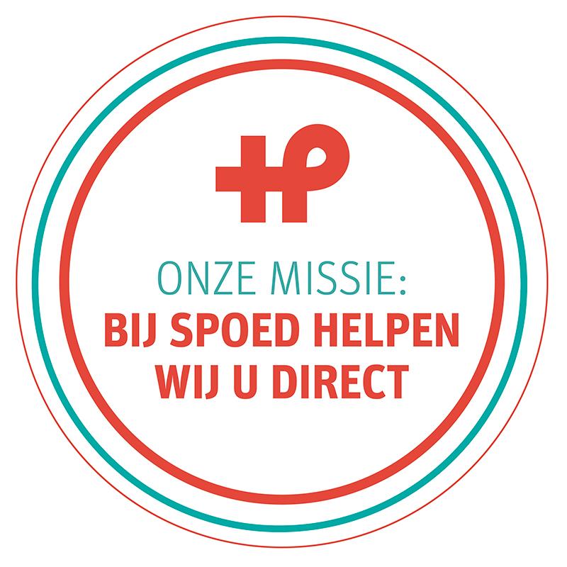 Onze missie: bij spoed helpen wij u direct